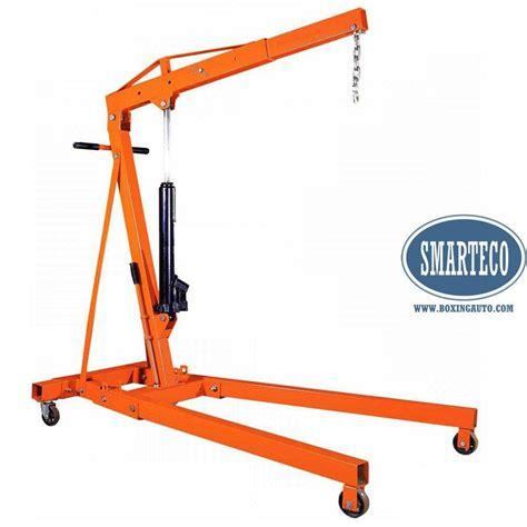 Manual Hydraulic Crane Engine Stand Shop Crane Product