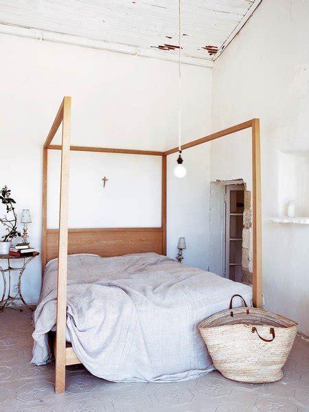 cama dosel madera magia en la cama nuevo estilo