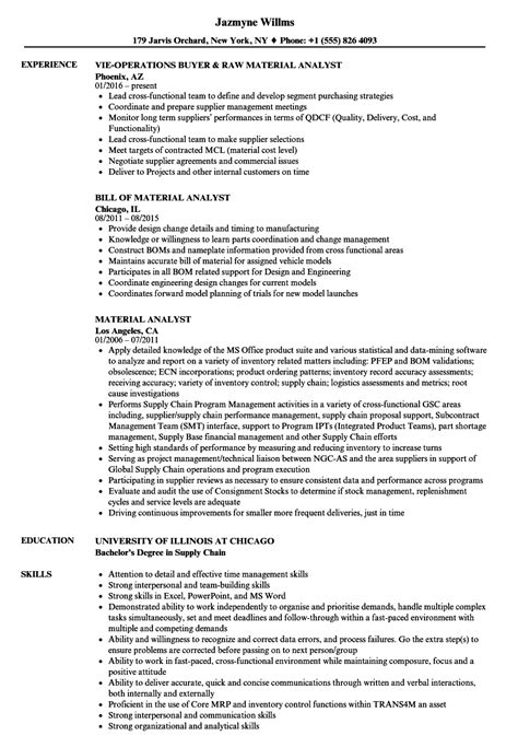 Inventory Analyst Resume Sample by Supply Analyst Sample Resume Online Marketing Assistant