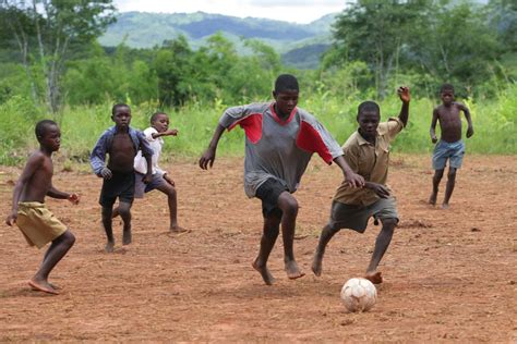 Small Villages In Usa world cup the simple joy of the soccer ball unicef usa