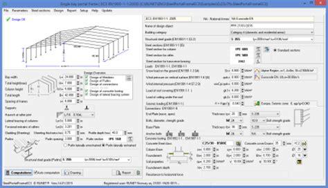 portal frame design xls steel portal frame ec3