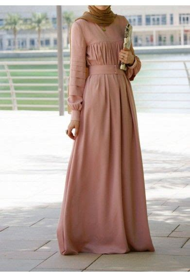 Gamis Muslimah 340 28 coral everyday dresses abayas and