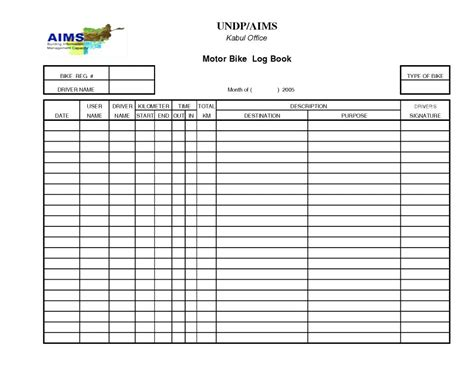 boat log book template free boat log book template vehicle expense or fuel sheet