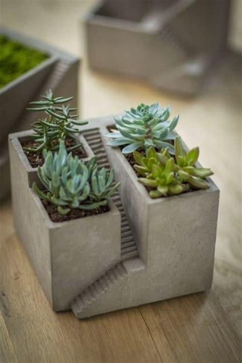 concrete planter ideas    contemporary