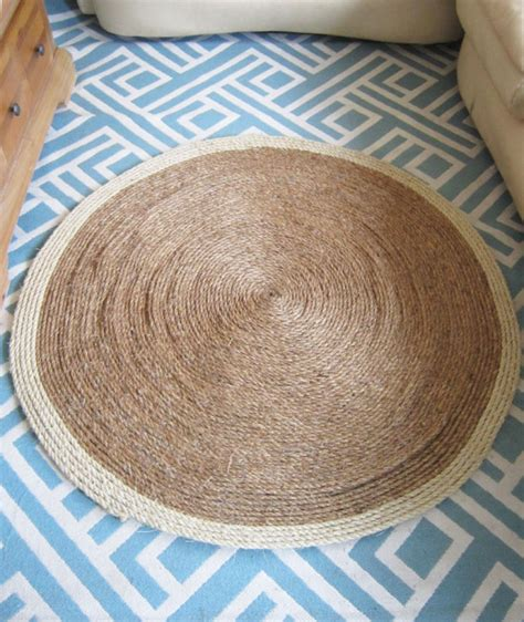 how to make a rug out of rope 12 amazing diy home decor ideas with rope