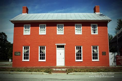 Levi Coffin House In Fountain City Indiana Grand Central Station Of The Underground