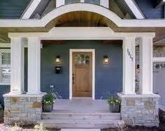 Ranch Style Trim Too Blue Or Not Too Blue Homes On Pinterest White Trim