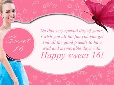 Happy Sixteenth Birthday Wishes 16th Birthday Wishes 365greetings Com