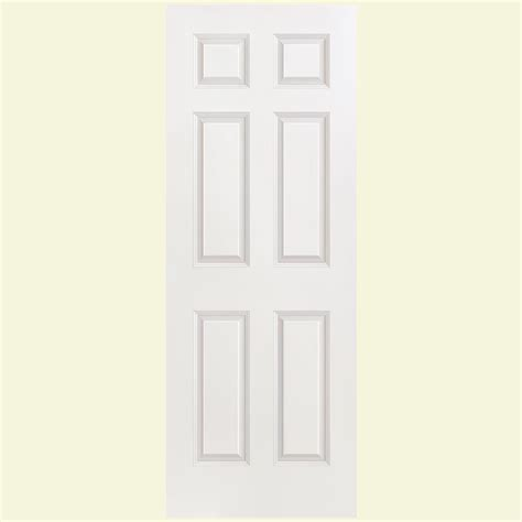 Sound Dening Interior Doors by Masonite 30 In X 80 In Solidoor Smooth 6 Panel Solid