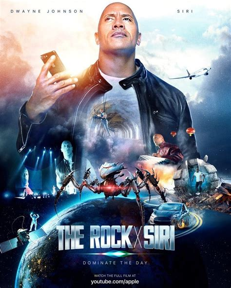 film terbaik dwayne johnson apple teams up with dwayne the rock johnson for siri