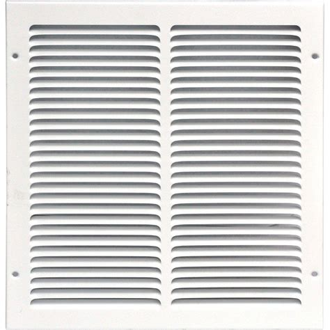 Diskon Rag Return Grill speedi grille 12 in x 12 in return air vent grille white with fixed blades sg 1212 rag the