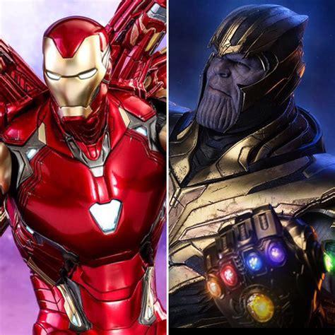 hot toys avengers endgame armored thanos iron mark