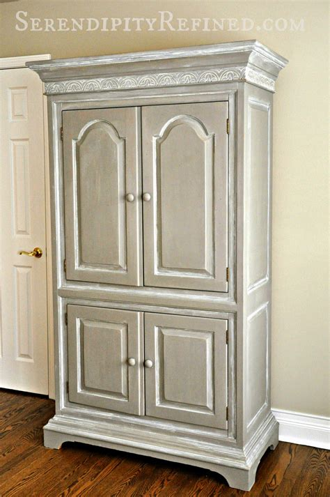 armoire cupboard serendipity refined blog reader painted furniture diy