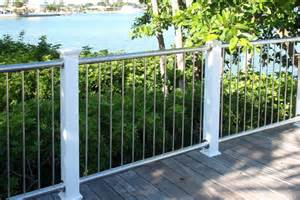 stainless steel vertical baluster railing photo gallery on