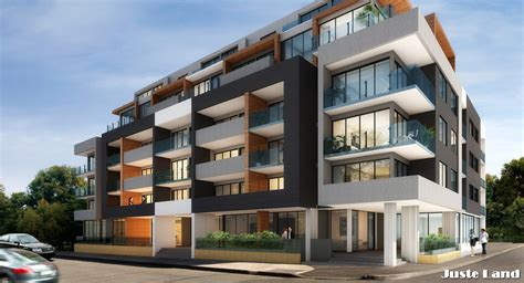 Appartments In Melbourne by Juste Land The Wilkinson Brunswick Melbourne Modern Architecture Modern
