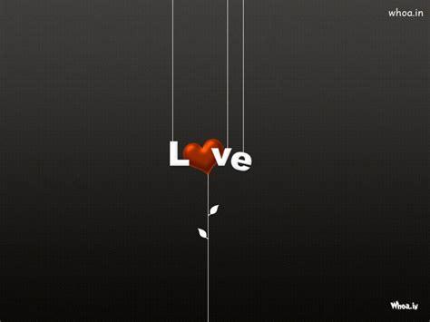 dark background love heart  tree