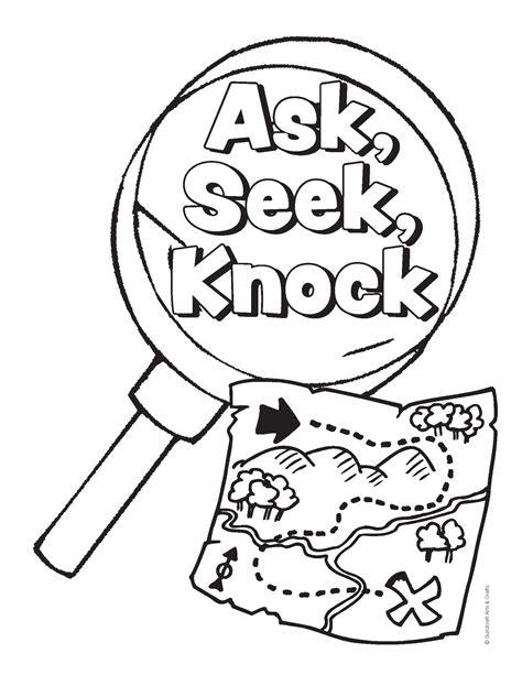 scavenger coloring sheet proof vbs scavenger hunt 2014