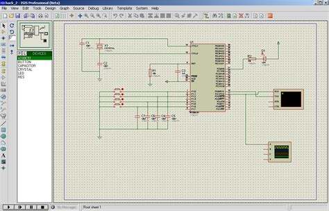 pic microcontroller proteus program