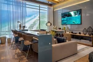 sofa bar home theater e salas de tv bar mesa atr 225 s do sof 225