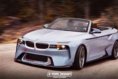 bmw concept 2002 bmw 2002 hommage concept rendered as a convertible