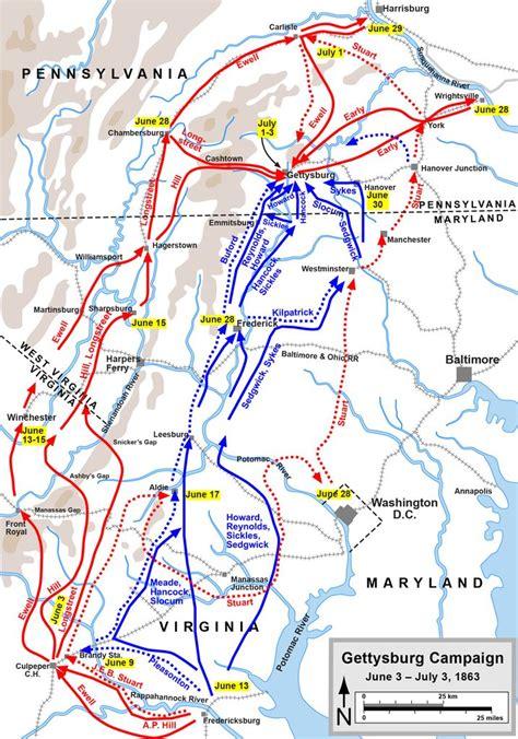 gettysburg map gettysburg battle civil war battlefield gettysburg report