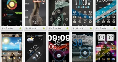 uccw themes samsung ultimate uccw skins for android part 1 iwizard
