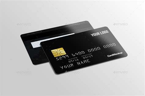 Plastic Credit Card Business Card Mockup Psd Template by 14 Credit Card Designs And Exles Psd Ai