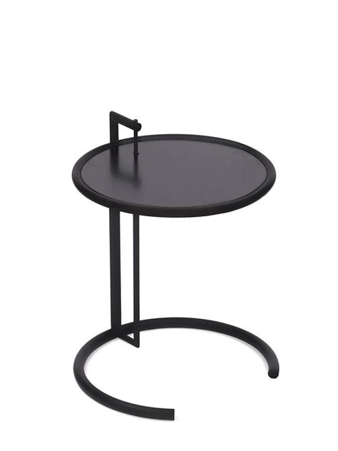 eileen grey adjustable table classicon adjustable table e 1027 black version black