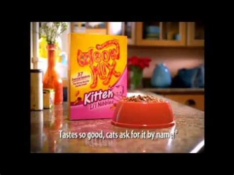 Meow Mix Kitten meow mix commercial kitten 2005