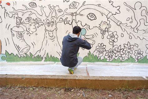disegni su muri interni murales allo zen grazie ai disegni dei bambini zoom