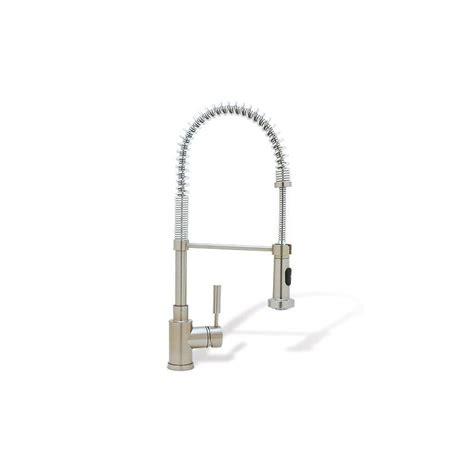 blanco kitchen faucet parts blanco 440557 satin nickel meridian single handle pulldown