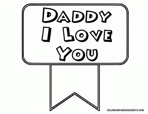 coloring pages that say love i miss you daddy coloring pages coloring pages