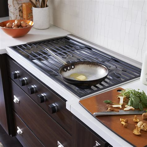 modern gas cooktop gas cooktops wolf new generation sub zero wolf