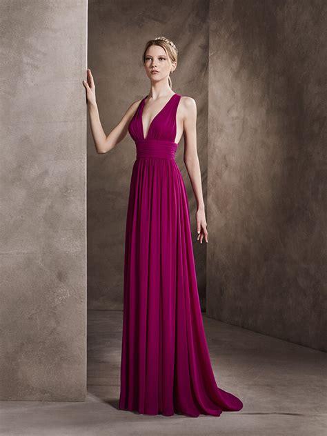 color uva vestidos elegantes colecci 243 n san 2017