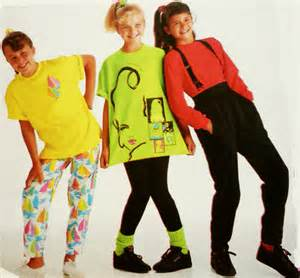 More neon girls wear 2 cliquey pizza 2 more 80 s teen book series