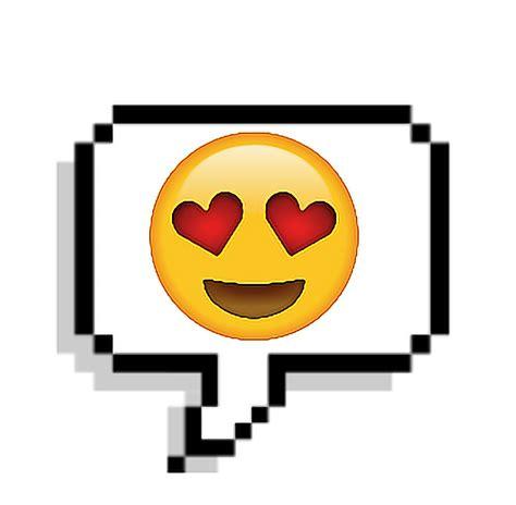 imagenes del emoji enamorado tumblr corazon emoji sticker enamorado pixel