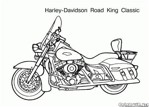 boyama sayfasi motosikletler
