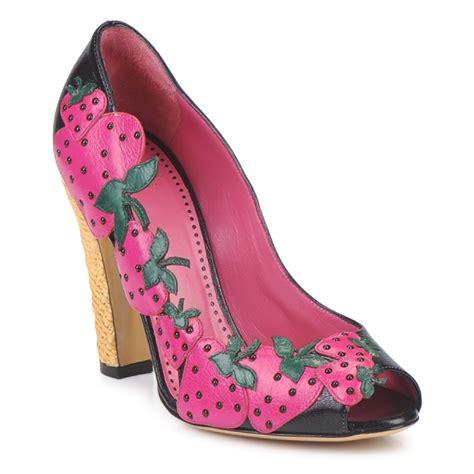 moschino shoes court shoes moschino cheap chic albizia black green