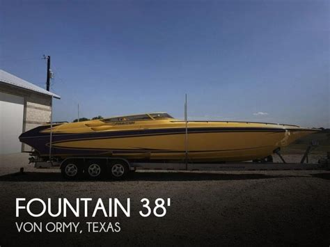 fountain boats for sale in texas high performance boats for sale in texas