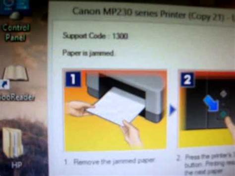 reset printer canon mp237 paper jam fix paper jam in canon pixma printers doovi