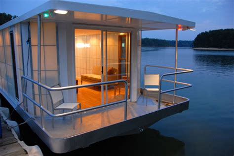 modern house boats metroship a modern luxury houseboat