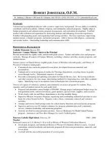 sle resume of a in high school high school resume writing