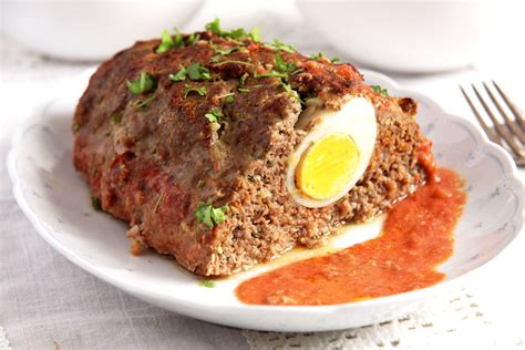 easy meatloaf with eggs
