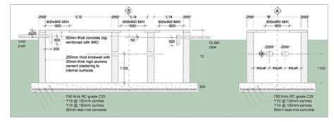 Brick Home Floor Plans by Brick Septic Tank Arkitrek Open Source Design Drawings