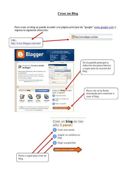 tutorial blogger blogspot tutorial cuenta gmail y blog