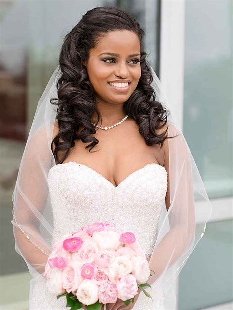 curly wedding hairstyles  long  short hair