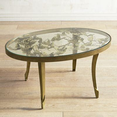 Golden Butterfly Coffee Table Pier 1 Imports Pier One Coffee Tables