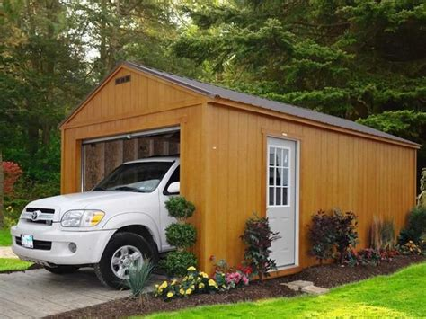 Garage Landscaping Ideas by The Advantages Of Wooden Garages Why Choose Wood As