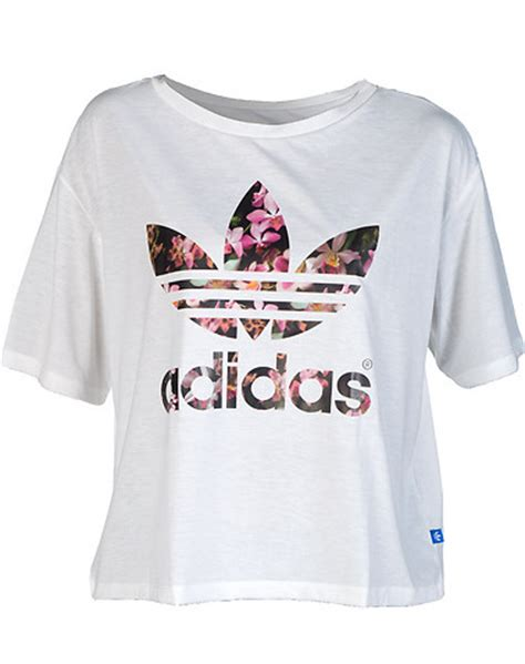 Kaos Adidas Black Whiteadidas T Shirt adidas orchid white s88223 jimmy jazz