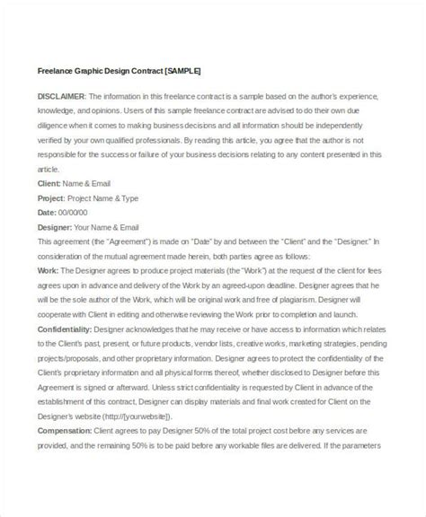 sample freelance contract templates pages word docs  premium templates